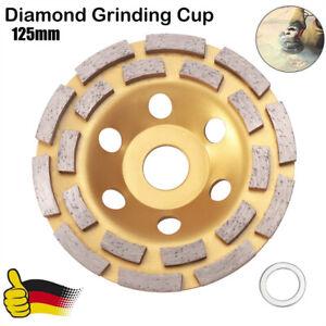Schleifteller Diamant Schleiftopf Topfscheibe 125 mm Beton Betonschleifer