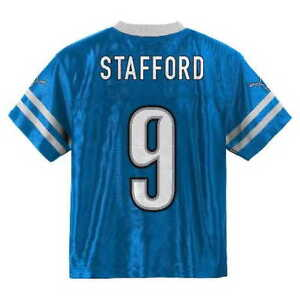 c1f5aa23 Details about Detroit Lions MATT MATTHEW STAFFORD nfl Jersey YOUTH KIDS  BOYS (L-LARGE)