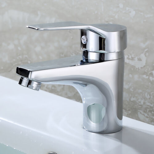 Bathroom Faucet Bathroom Basin Sink Mixer Tap with Hot and Cold Water Mixer Taps