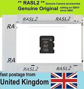 Genuine-Sony-M2-1GB-Memory-Card-MS-A1G-For-Camera-Ericsson-older-Xperia-PSP-GO