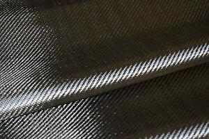 10 M² Tissu Carbone 200 g/m² sergé 2/2 largeur 1m27