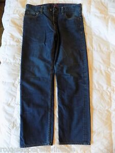 Levi-039-s-Red-WPL-423-Jeans-34X32-Excellent-Used-Condition-Straight-Cut-Button-Fly