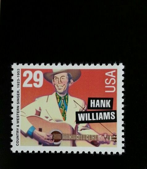 1993 29c Hank Williams, Country Music Hall of Fame Scot