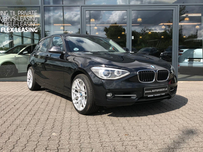 BMW 120d 2,0 Sport Line aut. 5d - 2.013 kr.