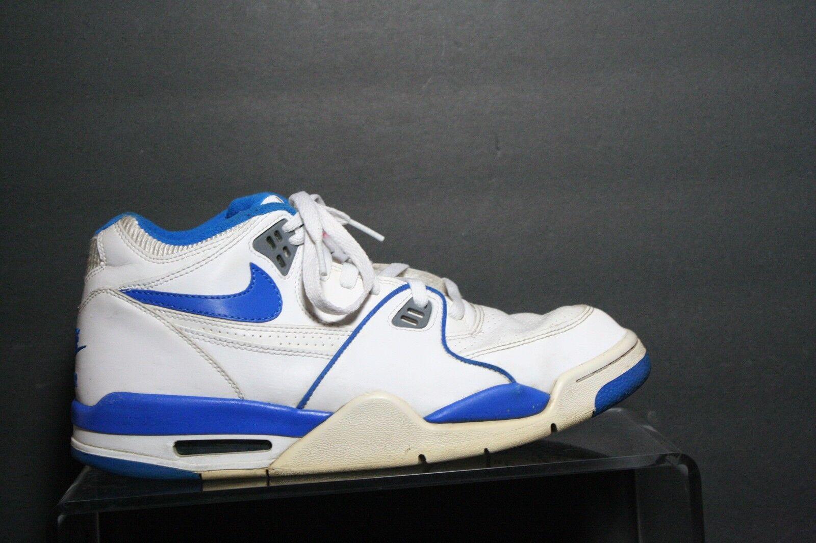 Nike Air flight flight flight 89 retro zapatillas de baloncesto Jordan '11 multi blanco Azul Hombres 9,5 barato y hermoso moda 1264bb