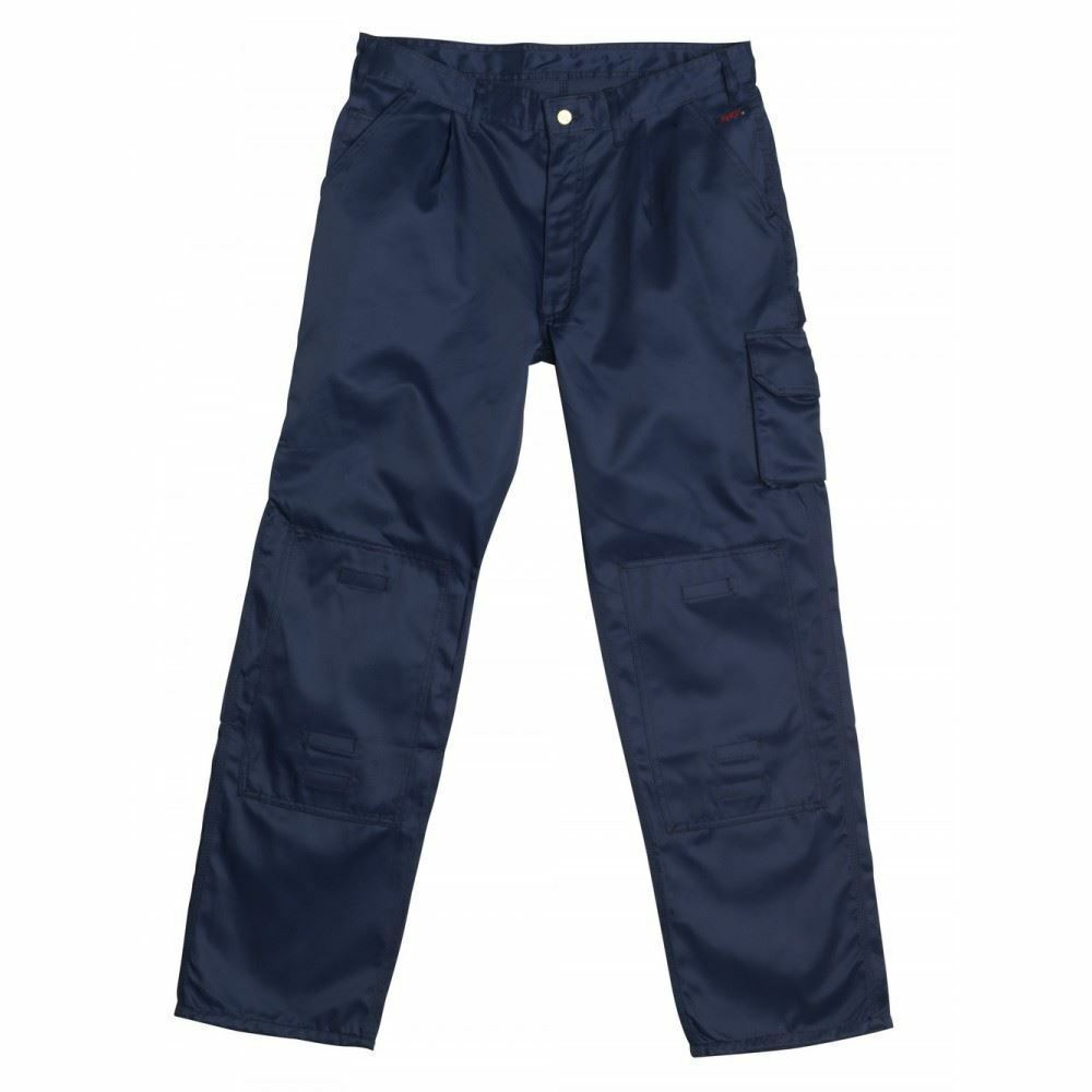 Mascot Los Angeles Mens Workwear Trousers blueE Waist 44 , EXTRA LONG LEG