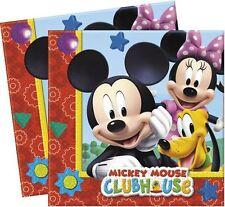 Disney Mickey Mouse Clubhouse Fiesta Servilletas De Papel - Paquete de 20