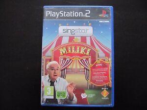MILIKI-PS2-PAL-ESPANA-Singstar-Miliki
