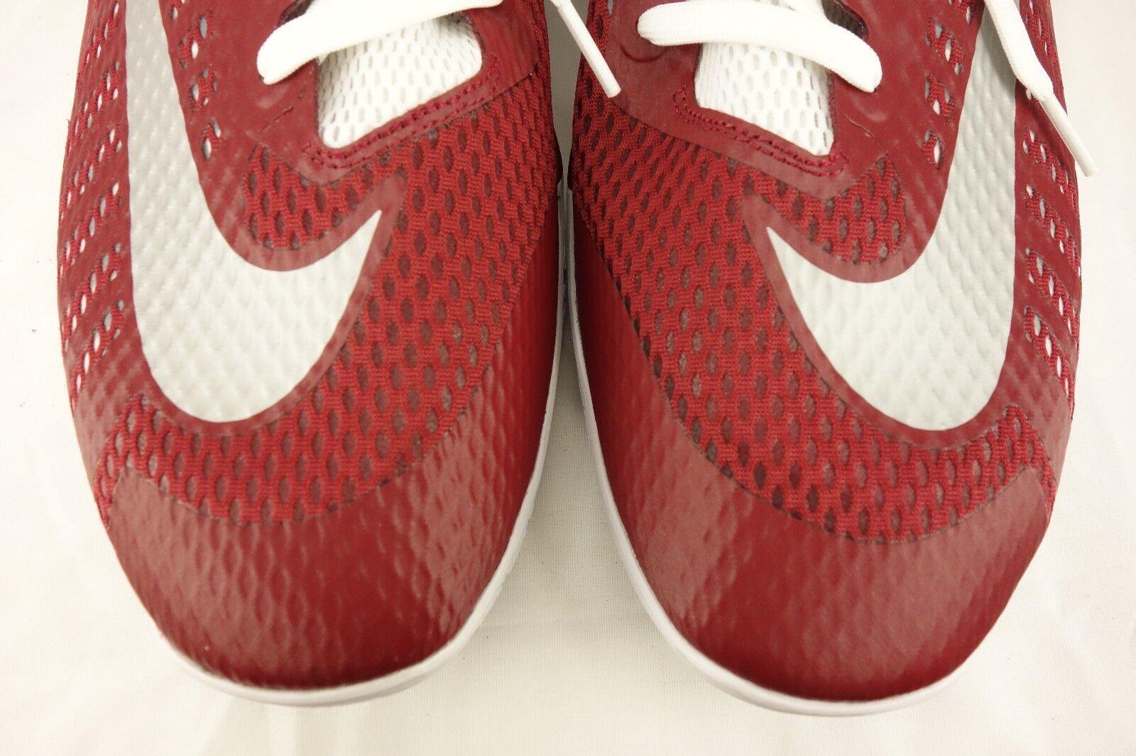 neue nike hyperlive maroon / weißes mesh spitzen sich mens basketball - schuh - mens sich 18m 834488-602 3de6da