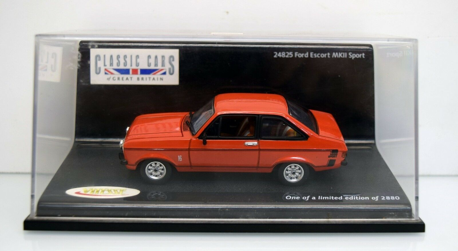Classic Coches 24825 Ford Escort MKII deporte, rojo, Limited Edition