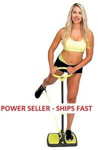 Booty Max Home Workout Resistance Band Exercise Equipment w// Resistance Band