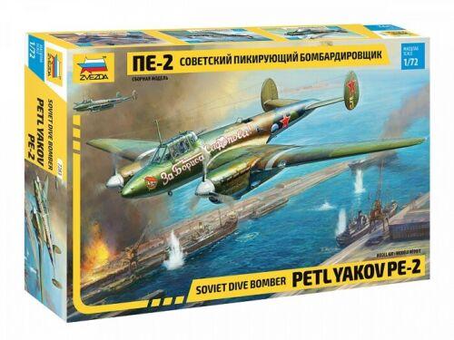 Neu Zvezda 7283-1//72 Soviet dive bomber Petlyakov PE-2