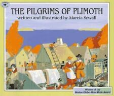 The Pilgrims of Plimoth by Marcia Sewall (1996, Picture Book)