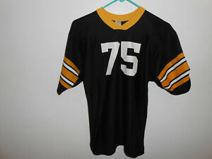 huge selection of 3ddff b4448 Details about Vintage 70's Authentic Joe Greene Jersey Pittsburgh Steelers  Jersey Medium