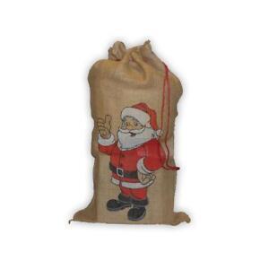 weihnachtsmannsack geschenkesack aus jute weihnachten. Black Bedroom Furniture Sets. Home Design Ideas