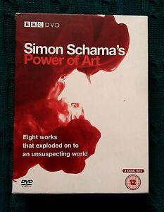 SIMON-SCHAMA-S-POWER-OF-ART-DVD-3-DISC-BOX-SET-R-2-4-VERY-GOOD-FREE-POST