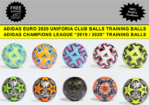 evidencia Electricista texto  Adidas Euro 2020 Uniforia Palo Fútbol & Liga Campeones Entrenamiento Bolas  Size   eBay