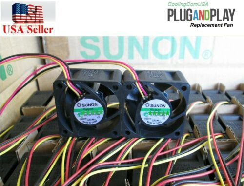 Cisco SG220-26P Fan Kit 2x Sunon 18.5dBA Noise Best HomeNetwork Quiet Version