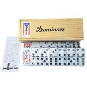 Dominoes Puerto Rico Flag /& Horse Double Six Dominos Boricua Rican