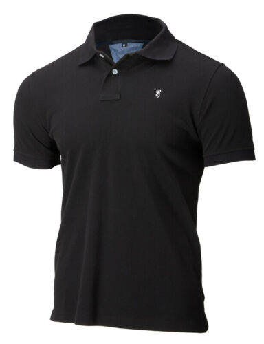 30190799xx Browning Shirt Polo Ultra 78 Black