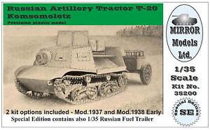 Mirror-Models-1-35-Russian-Artillery-Tractor-T-20-Komsomoletz-Early-35200