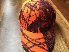 f1cafde3438 Mossy Oak Camo Blaze Orange Cap - Hunting