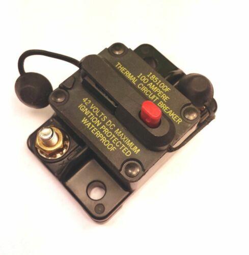 Bussman DC Circuit Breaker 100 Amp Surface M  185100F Cooper Bussmann CB185-100F