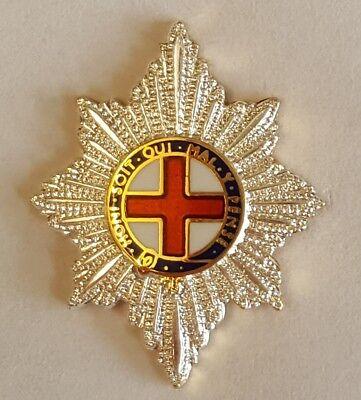 Regimental Tie Clip  Coldstream Guards Garter Star design