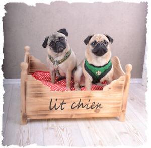 Chiens Coussin holzBett pour chiens panier-Fliegenpilz Coussin Shabby-afficher le titre d`origine 5oDiCYAn-07204126-124726581