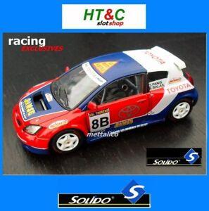 SOLIDO-METAL-1-43-TOYOTA-COROLLA-WRC-TROPHEE-ANDROS-2006-PANIS-BALAS-EXCLUSIVE