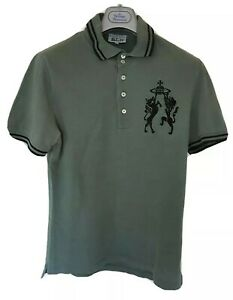 Mens-CHAOS-by-VIVIENNE-WESTWOOD-short-sleeve-polo-shirt-size-large-med-RRP-195
