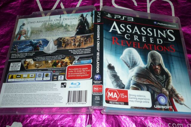 ASSASSIN'S CREED REVELATIONS (SONY PS3 GAME, MA15+) .