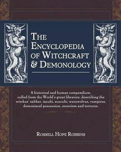 The Encyclopedia Of Witchcraft & Demonology, Brand New, Free P&P in the UK