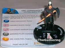 ORC COMMANDER #006 Lord of the Rings: The Return of the King LotR HeroClix