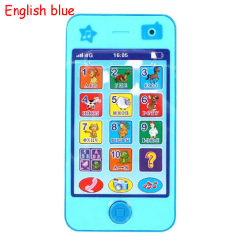 Baby Infant Kids Phone Toys Music Mobile English//Russian Language  Educational