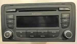 Radio-Audi-Concert-EU-A3-AB2-Blaupunkt-Per-Audi-A3-8P-8P0035186S-SENZA-CODICE