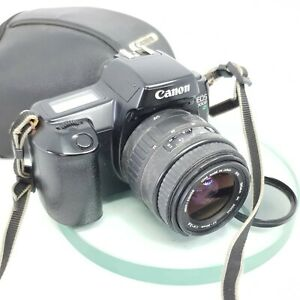 Canon-EOS-1000f-N-35mm-SLR-Film-Kamera-mit-Sigma-35-80mm-Objektiv-Tasche-testd-690