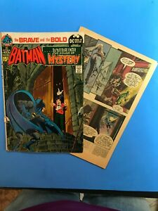 THE-BRAVE-AND-THE-BOLD-93-BATMAN-DC-House-of-Mystery-1970-71
