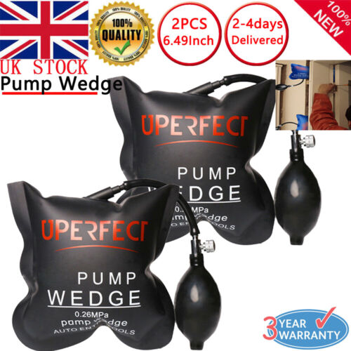 4PCs Air Wedge Pump Up Bag For Car Door Window Frame Fitting Install Shim Wedge