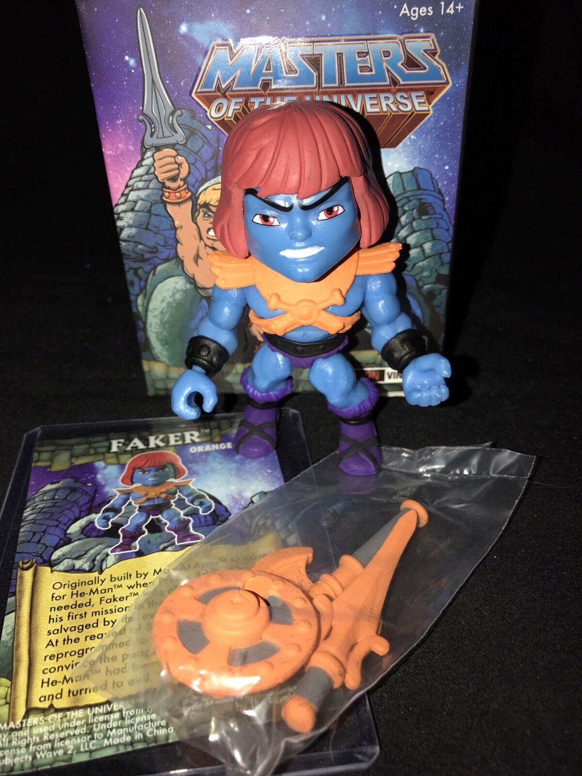 The Loyal Subjects Masters Of The Universe Target Exclusive arancia Faker MOTU