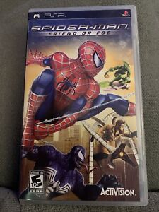 Spider-Man: Friend or Foe (Sony PSP, 2007) - Complete Tested