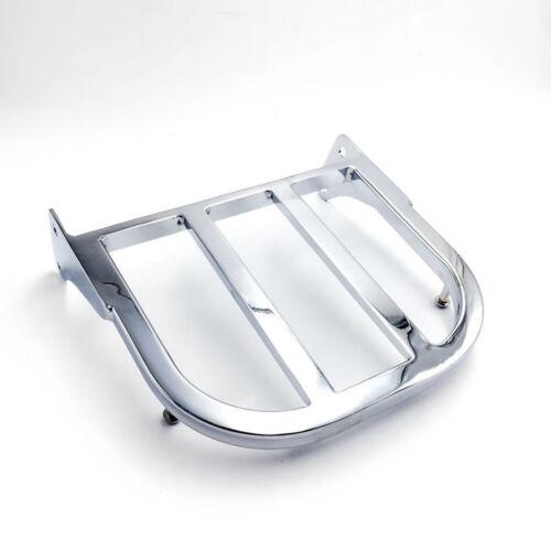 New Chrome Sissy Bar Luggage Rack For Suzuki Volusia VL800 Boulevard M50//C50