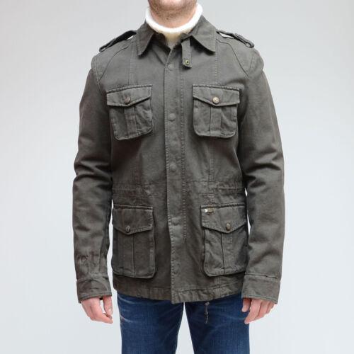 Militare Slim Cappotto Byblos Verde Parka Invernale Giubbino Uomo Giubbotto 0nwWHq14