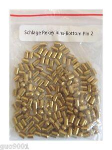 200 Pieces Schlage Rekey Bottom Pins 2 Locksmith Rekeying