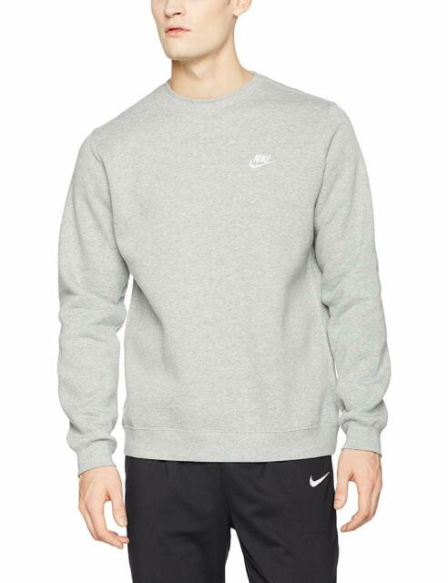 Nike Mens Club Fleece Crew Sweatshirt 804340 063