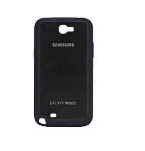 Details about Neuf OEM Samsung Galaxy Note 2 II N7100 Noir Silicone Gel Coque Ret