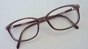 KK-Herren-Brille-Fassung-ohne-Glaeser-Rahmen-Kunststoff-Glasses-Frame-size-M