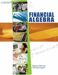 Financial algebra financial algebra student edition by richard j stock photo fandeluxe