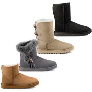 Stivaletti-donna-TW-Mammuth-short-stivali-con-pelliccia-classic-scarpe-invernali