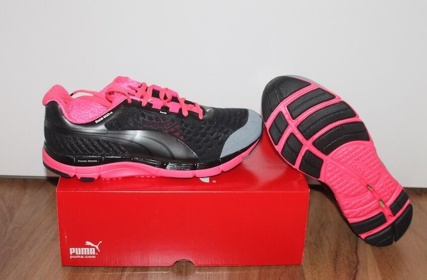 Puma FAAS 600 V2 femme courses courses courses course fitness chaussure noir rose taille 40, 4bd5b1